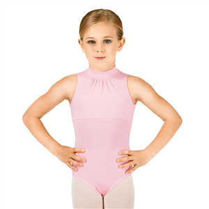 Girls High Neck Tank Leotard