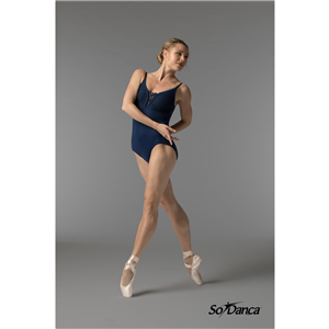 Sara Mearns Collection Thin Strap Leotard