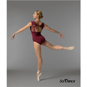 Sara Mearns Collection Leotard with Back Detail