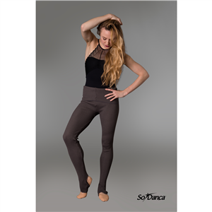 Sara Mearns Collection Stirrup warm-up pants