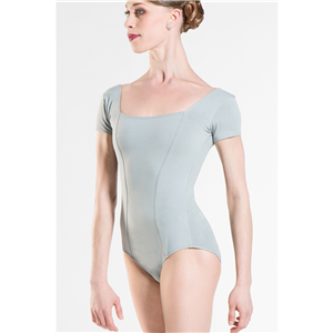 """Odalia"" Cotton Short Sleeved Leotard- Step 2018-2"