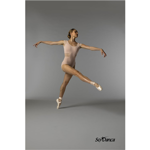 Sara Mearns Collection Short Sleeve Leotard